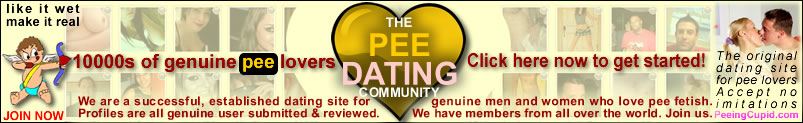 Pee Dating Pissing Personals